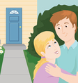 Couple Buying a Home vector image