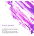 fuchsia purple lilac grunge marble watercolor vector image vector image