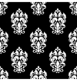 Seamless pattern with floral motifs vector image vector image