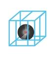 vr circular camera 3d panorama vector image vector image