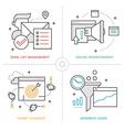 Online Marketing Technologies vector image