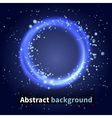 Abstract background sky with light particles vector image