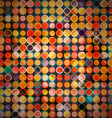 abstract circle seamless pattern vector image vector image