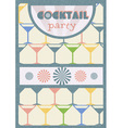 Cocktail party poster