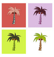 coconut hand drawn sketch with palm leaf sketch vector image vector image