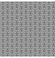 decorative black pattern vector image vector image