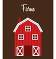 farm stable vector image vector image