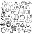 icons symbols Patricks Day vector image vector image