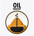 oil industry production petroleum icon vector image