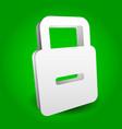 padlock - lock concept graphics editable eps 10 vector image vector image