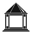 pergola gazebo icon simple style vector image vector image