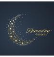 ramadan greetings background luxury gold vector image vector image