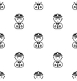 Sailor black icon for web and mobile vector image vector image