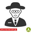 Scientist EPS Icon vector image vector image