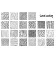 sketch hatching abstract pattern backgrounds vector image