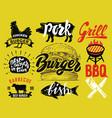 hamburger menu vector image