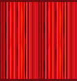 bright red curtain retro theater pattern vector image vector image