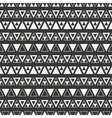 Geometric line monochrome abstract hipster vector image vector image