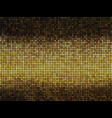 golden abstract lights disco background vector image