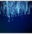Light glitter background effect EPS 10 vector image vector image