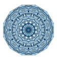 mandala design vintage decorative elements vector image