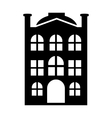 New house simple icon vector image