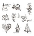 Oriental Spa Logos vector image