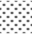 pancakes pattern seamless vector image