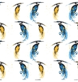 seamless pattern with herons vector image