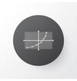 analytics icon symbol premium quality isolated vector image vector image