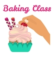Baking cooking class vector image vector image