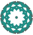 Celtic round ornament vector image