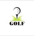 Golf icon symbol vector image