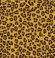 leopard skin texture seamless pattern vector image