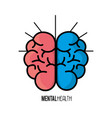 mental health brain art