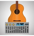 Music design isolated entertainment vector image vector image