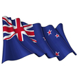 New Zealand Flag vector image vector image