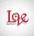 valentines day love background 1301 vector image vector image