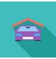 Garage icon vector image