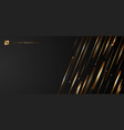 abstract modern luxury template banner web design vector image