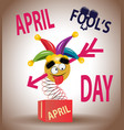 April day is a fool colorful