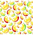 chili pepper pattern vector image vector image