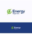 energy logo vector image vector image