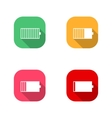 Icons Battery vector image vector image