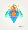 Nature of geometric elements vector image