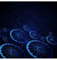 Abstract wheels vector image