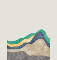 abstract mountain landscape oriental style