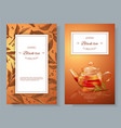 Black tea banners vector image