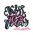 Kisses day lettering inspiration poster vector image vector image