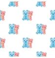 Teddy bears icon in cartoon style isolated on vector image